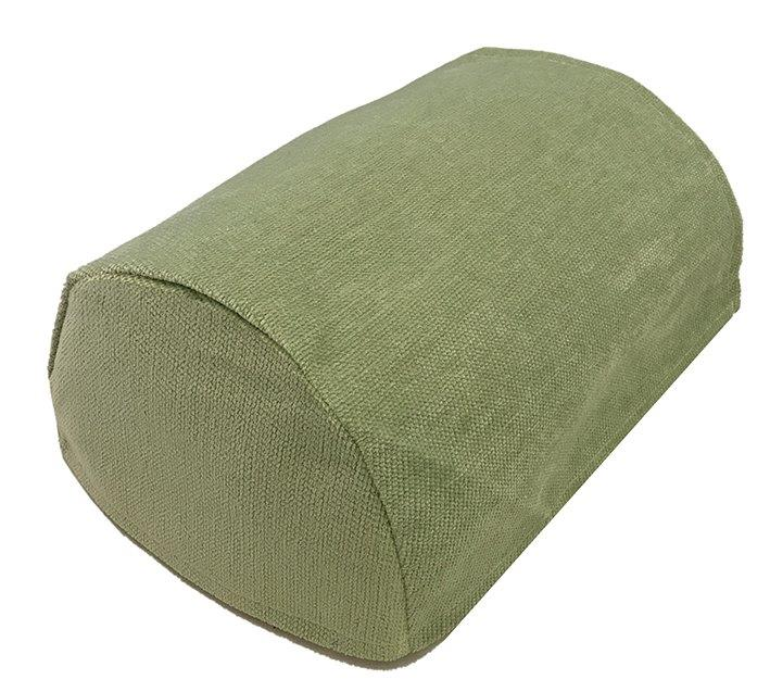 Green Chenille Arm Covers Pairs In A, Chair Arm Covers