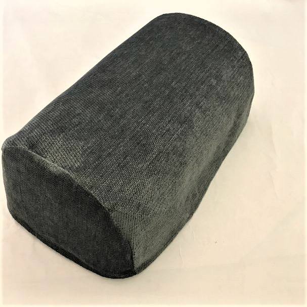 Slate Grey chenille chair arm covers