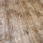 Brown Floorboards Vinyl Tablecloth