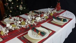 Christmas Tablecloth & runner