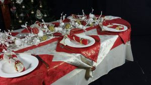 Christmas table & runners