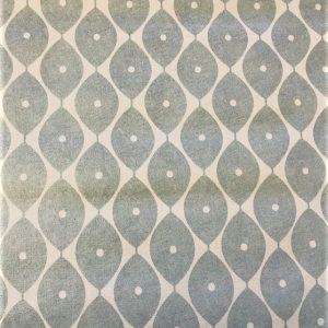 Light Morrocan grey vinyl tablecloth 54 inch wide