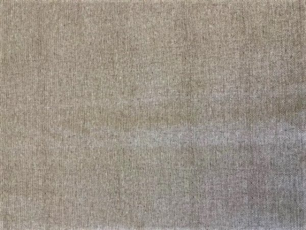 Hessian natural vinyl tablecloth