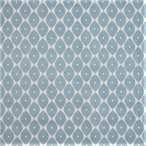 Morrocan duck egg blue vinyl tablecloth