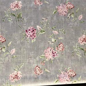 Pink Chrysanthemums Vinyl Tablecloth