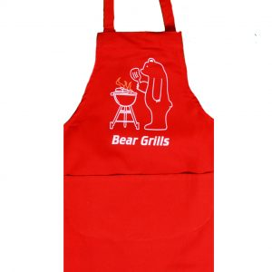 Full length apron bear grills design