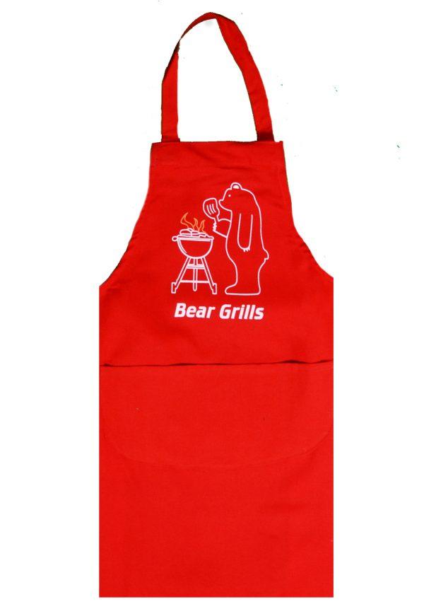 Full length apron bear grills design