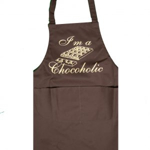 Full length apron chocoholic