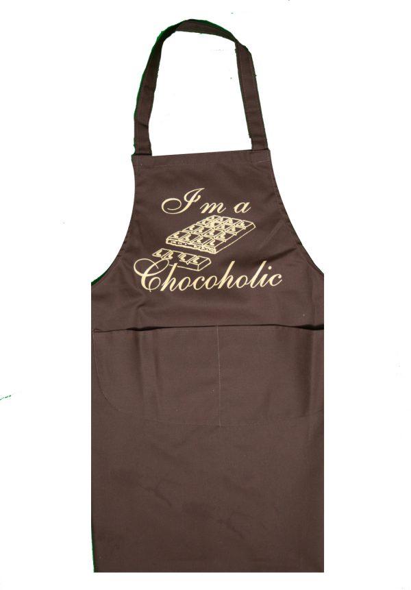 Full length apron chocoholic