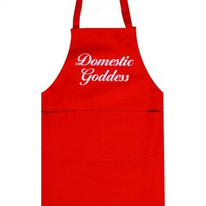 Full length apron domestic goddess