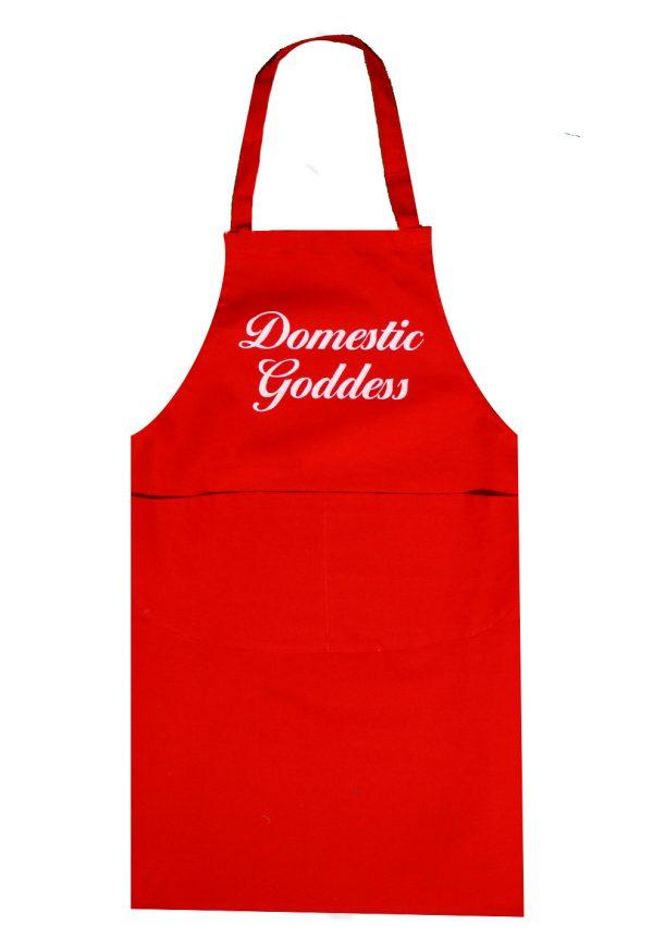 Full length apron domestic goddess