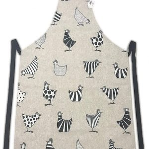 Full length apron chickens