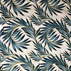 Tropical Palm Leaf Vinyl Tablecloth