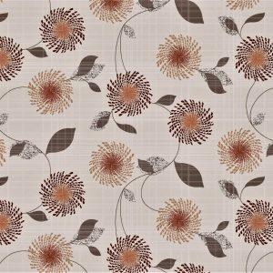 Rustic floral vinyl tablecloth