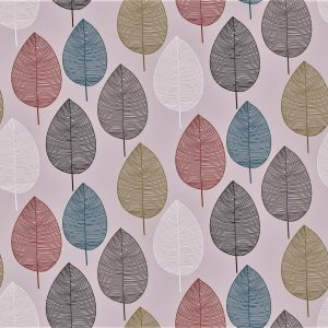Pretty Spring Leaves vinyl tablecloth