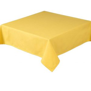 Rio Square Lemon Tablecloth