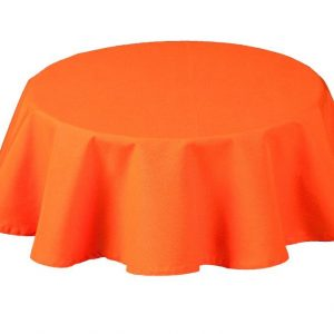 Rio Orange Round Tablecloth