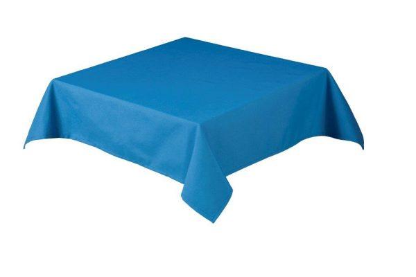 Rio Blue Square Tablecloth