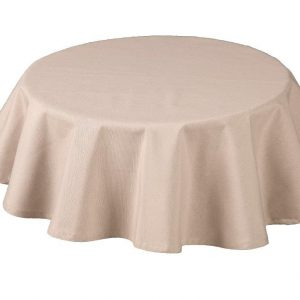 Rio Coffee Round Tablecloth