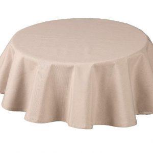 Rio Coffee Round Tablecloth