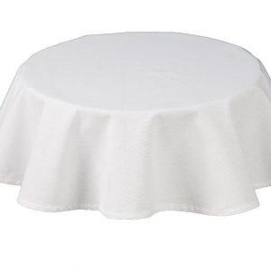 Rio White Round Tablecloth
