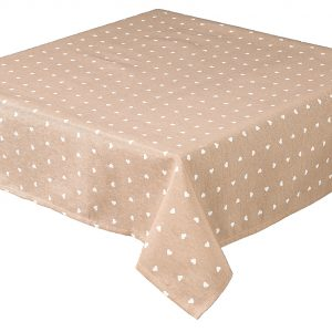 Hearts Rectangle Coffee Tablecloth