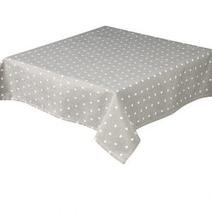 Hearts Rectangle Grey Tablecloth