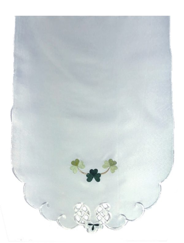 Shamrock cream chair covers