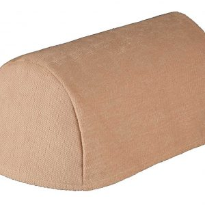 Cream chenille narrow arm covers (pair)