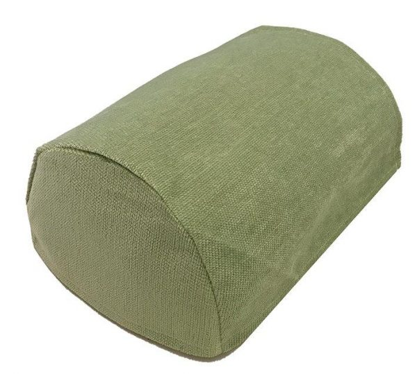 Green chenille chair covers
