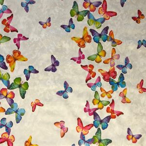 Butterfly swarm vinyl tablecloth