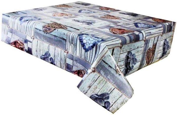 Romance vinyl tablecloth
