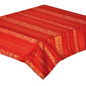 Fab red Christmas tablecloth