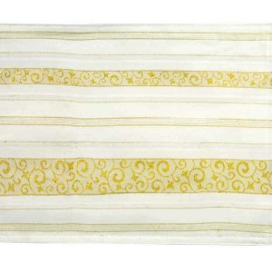 Fab Gold table runner