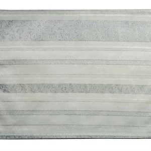 Fab silver Christmas tablecloth