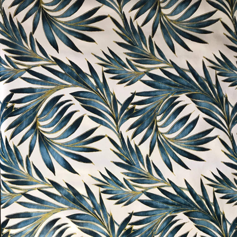 Fern Leaf Vinyl Tablecloth